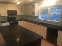 Absolute Black Honed Granite Countertops for Kitchen ...