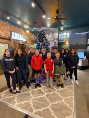 Visitor Center Tree Decor 2019