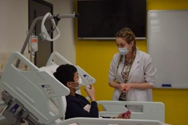 Lena et son patient