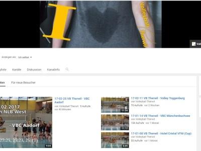 Video Zusammenschnitt VB Therwil gegen VBC Aadorf