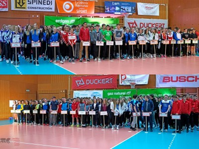 Teams Volley Final Four Eröffnungszeremonie