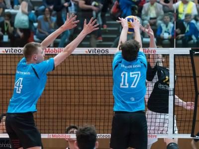 Herren Volleyball Block