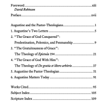 Table of Contents – God Crowns His Own Gifts – Augustine