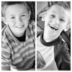 Brothers Connor and Cayden Long