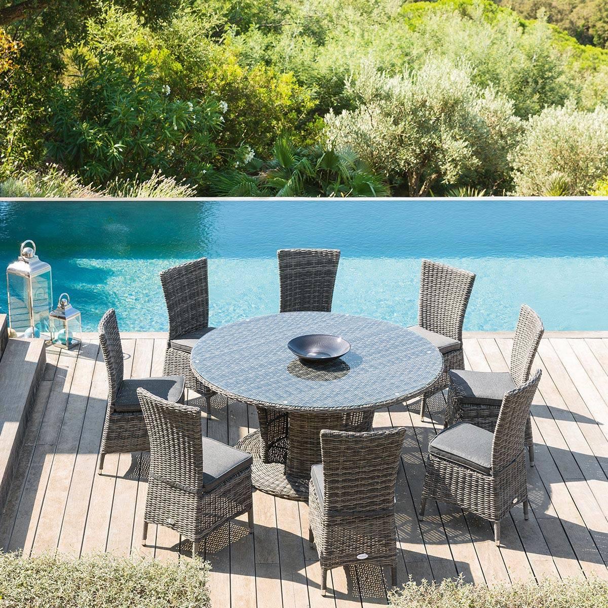 Table De Jardin Ronde Retro | Table Jardin Ronde Metal