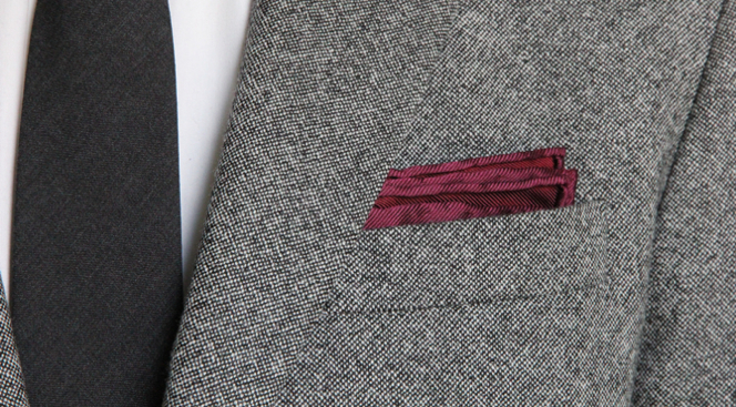 How To Fold a Pocket Square: Classic Fold - He Spoke Style