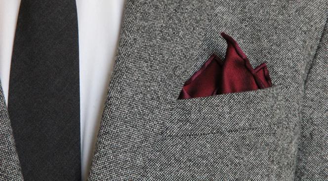 How To Fold a Pocket Square: Crown Fold - He Spoke Style