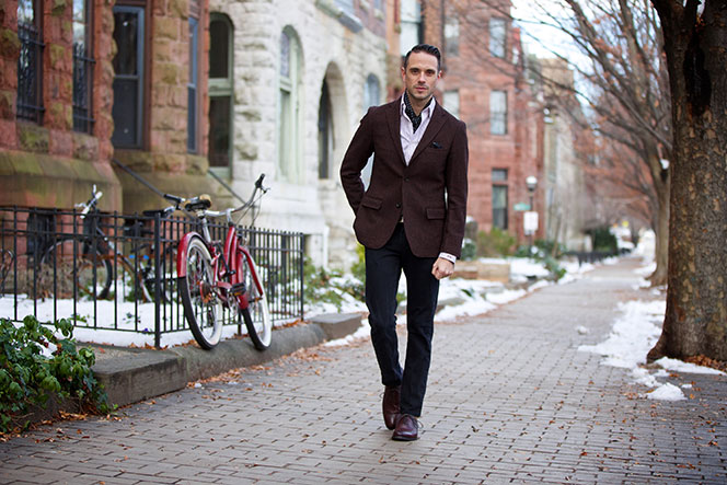 The Stylish Silk Scarf - He Spoke Style