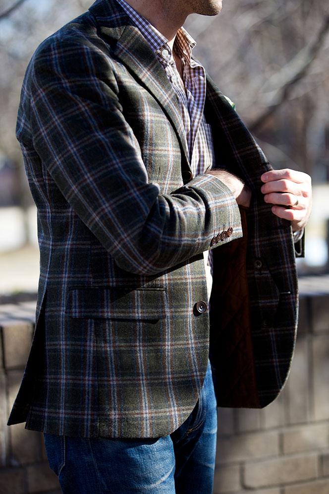 Plaid Sport Coat He Spoke Style