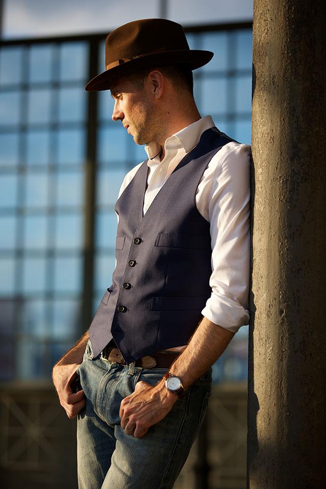 Warm Weather Waistcoat - He Spoke Style