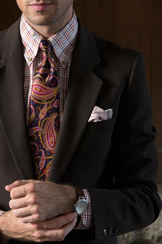 Paisley Tie - He Spoke Style