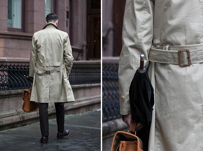 Men's Trench Coat - He Spoke Style