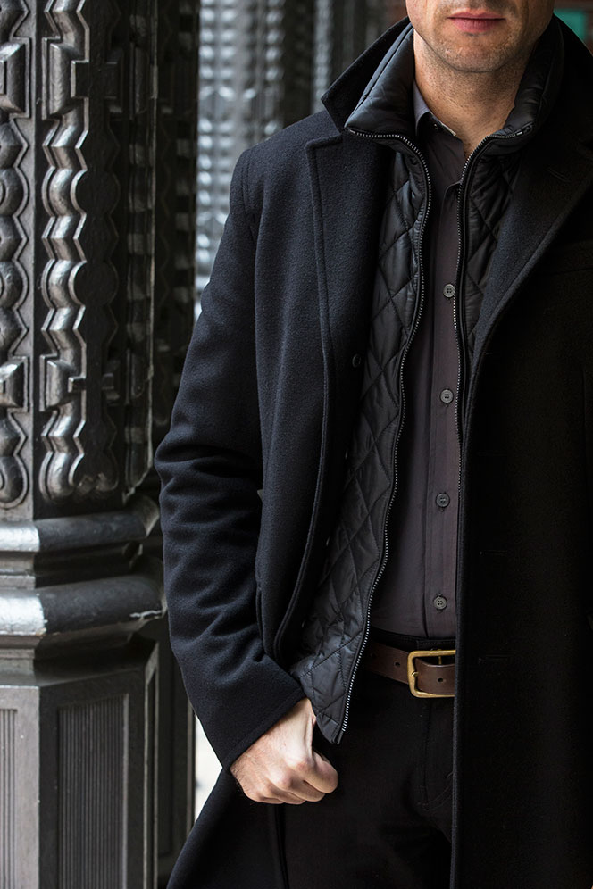 Fall Black and Gray - He Spoke Style