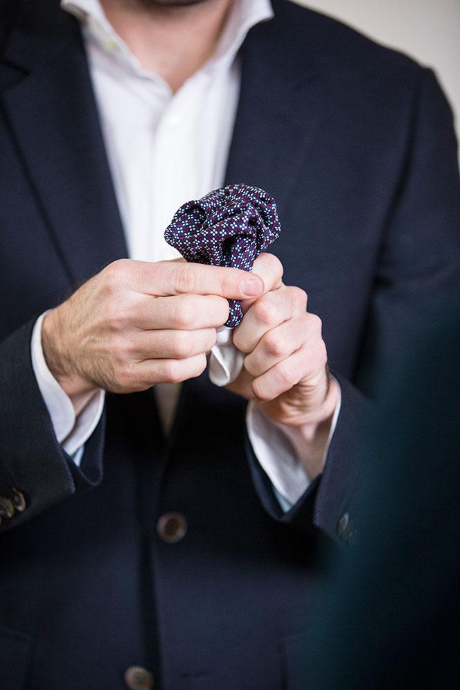 How To Fold a Big Pocket Square - He Spoke Style