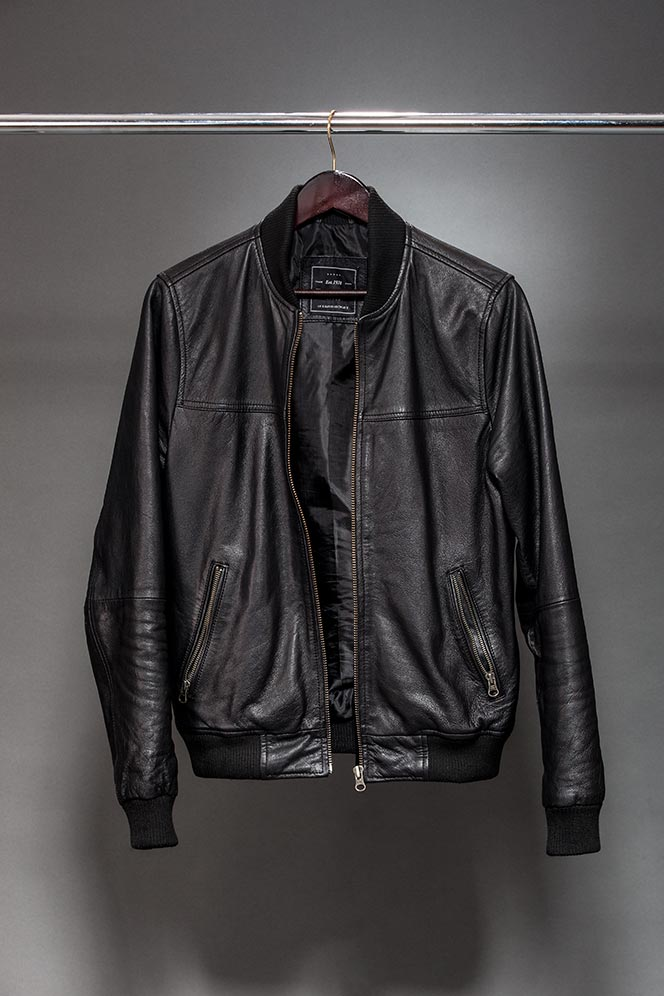 Leather Jacket Spring Outerwear - He Spoke Style