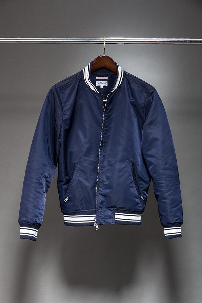 Varsity Jacket Spring Outerwear - He Spoke Style