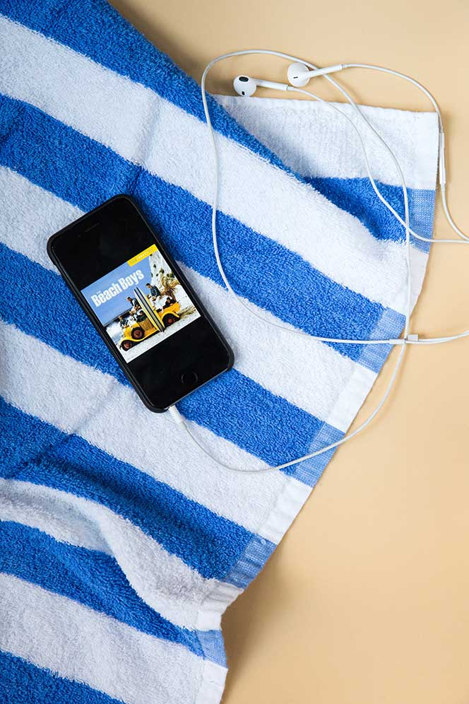 Cabana Stripe Beach Towel - He Spoke Style