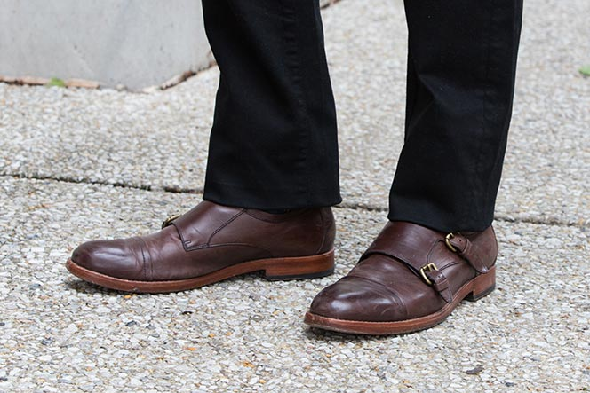 Coach Double Monk Strap Shoes - He Spoke Style