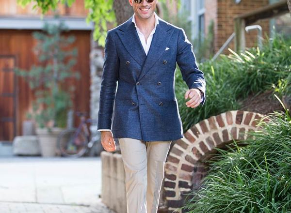 Suitsupply Double Breasted Blazer - He Spoke Style