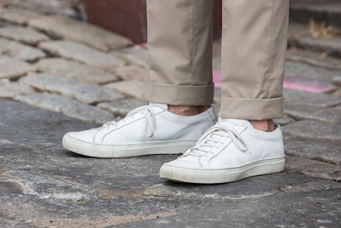 Common Project Original Achilles Leather Sneakers - He Spoke Style