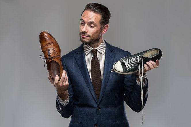 Image result for Shoes men dating
