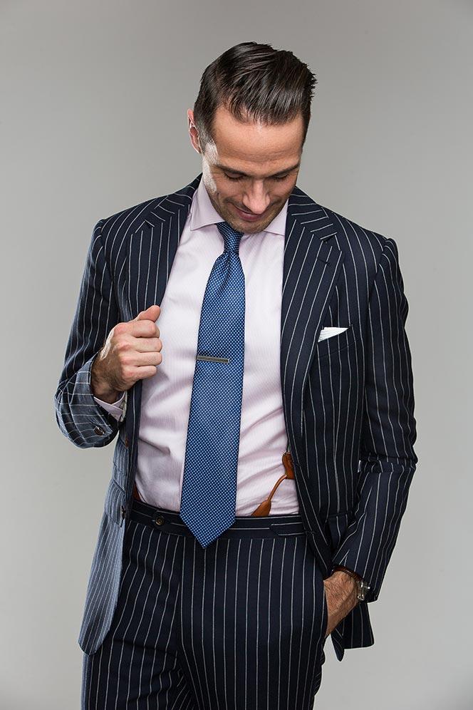 How To Wear Suspenders - He Spoke Style