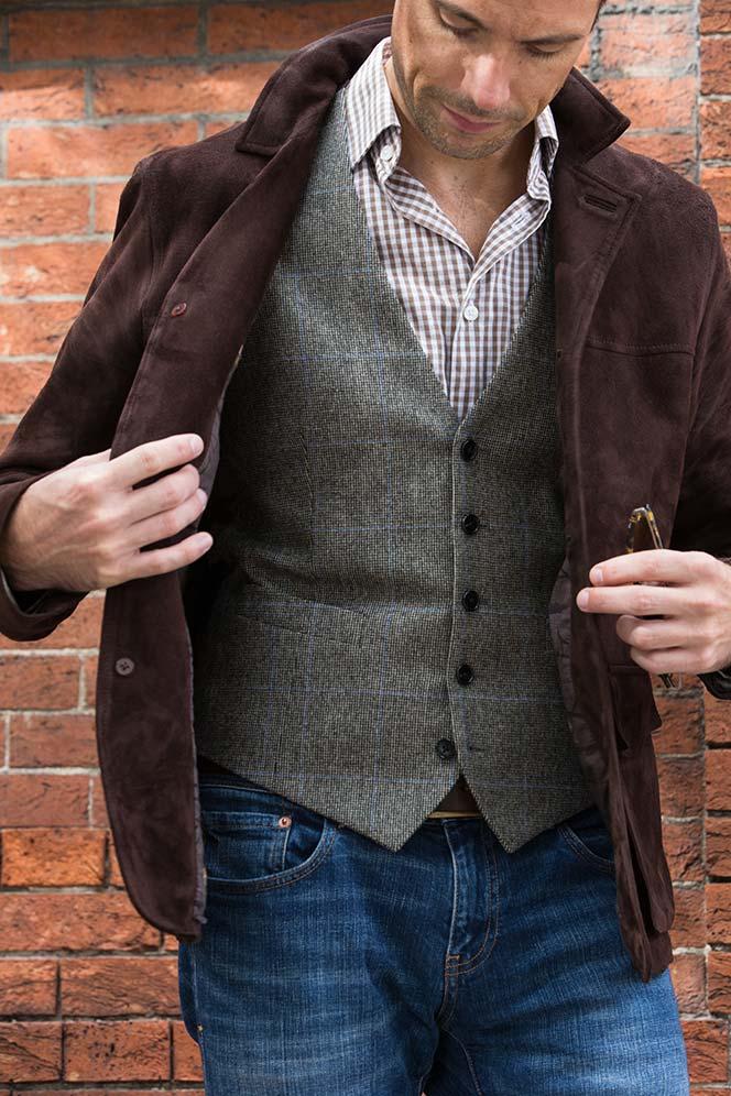 Lardini Waistcoat - He Spoke Style