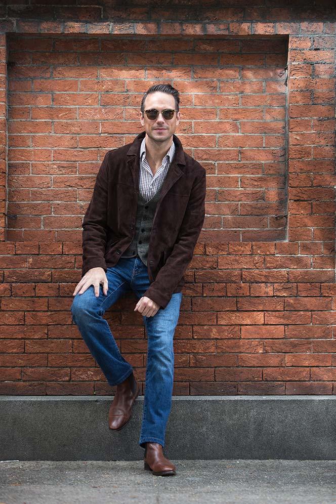 Billy Reid Suede Jacket - He Spoke Style