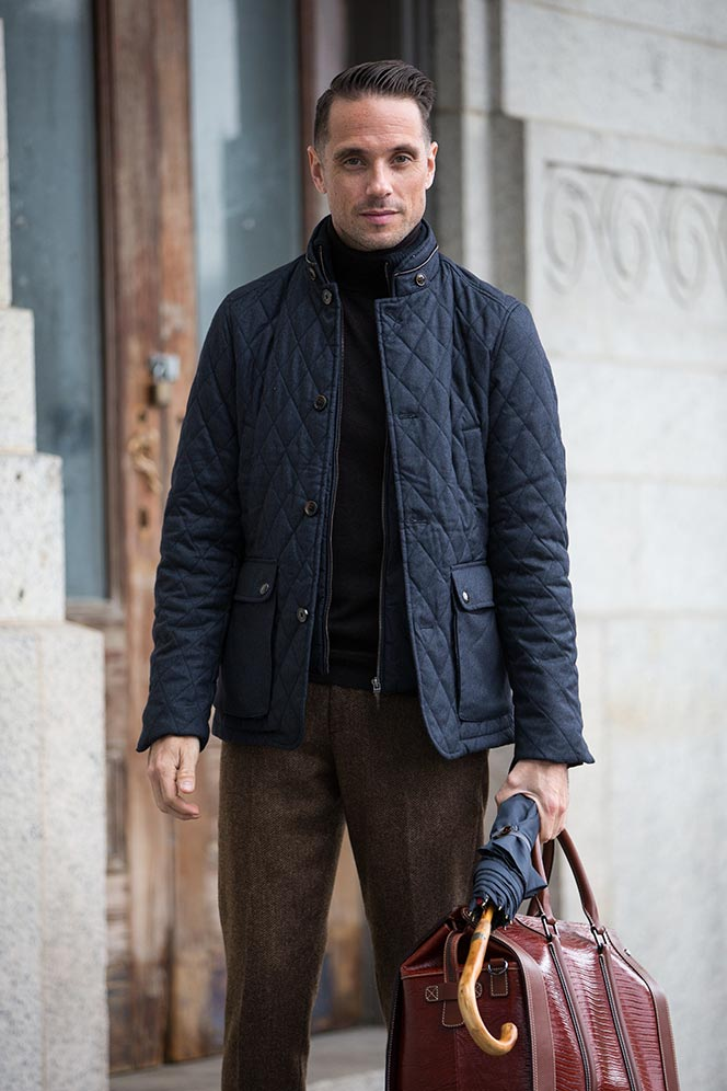 Ted Baker Quilted Jacket - He Spoke Style