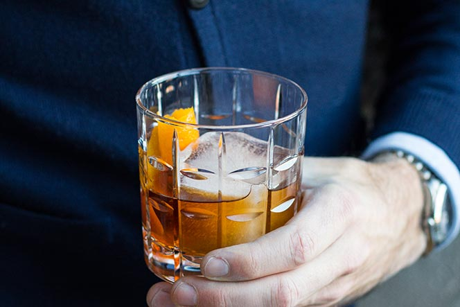 how to make an old fashioned cocktail