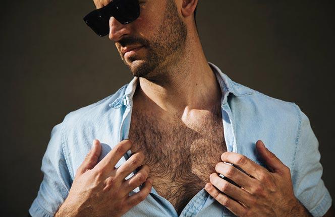 chest hair mens grooming trend