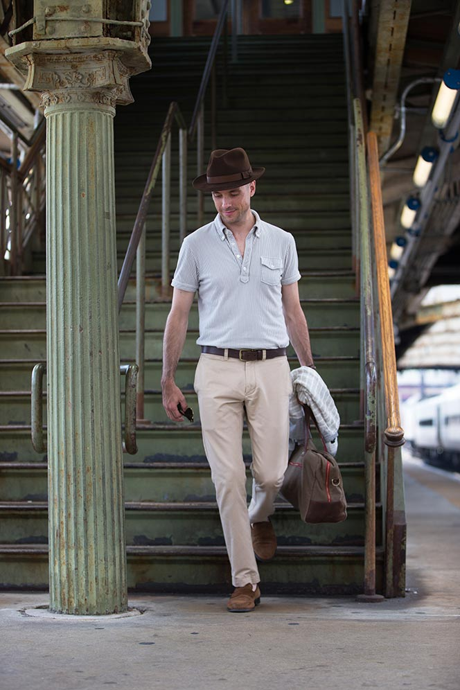What's Wrong With a Polo Shirt and Khaki Pants? - He Spoke Style