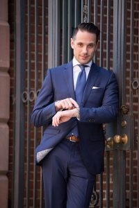 13 Different Ties To Wear With a Blue Suit - He Spoke Style