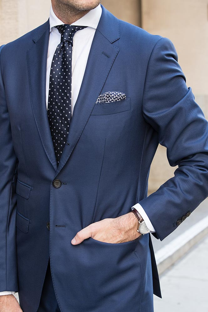 13 Different Ties To Wear With a Blue Suit