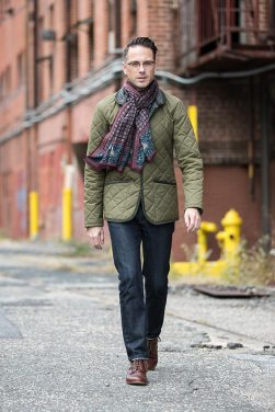 「how to wear quilted jacket」の画像検索結果