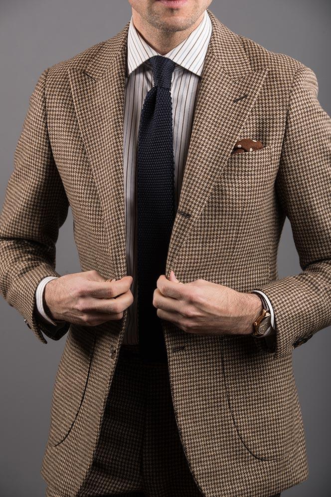 patch pockets suit blazer
