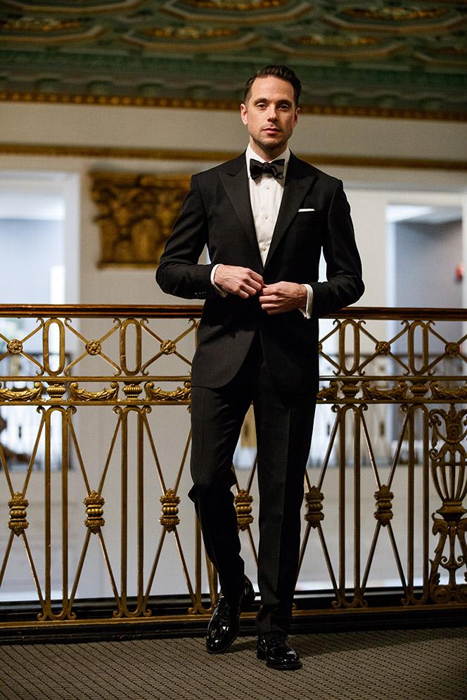 tuxedo-black-tie-attire-dress-code-bow-tie-patent-leather-shoes-how-to-formalwear-men-walking