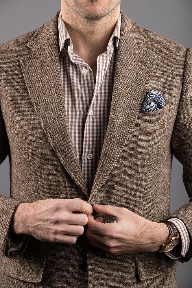 mitered cuff dress shirt style