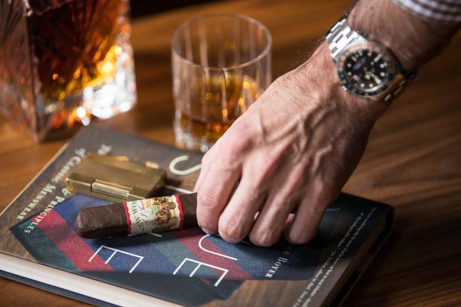 aj fernandez new world cigar review
