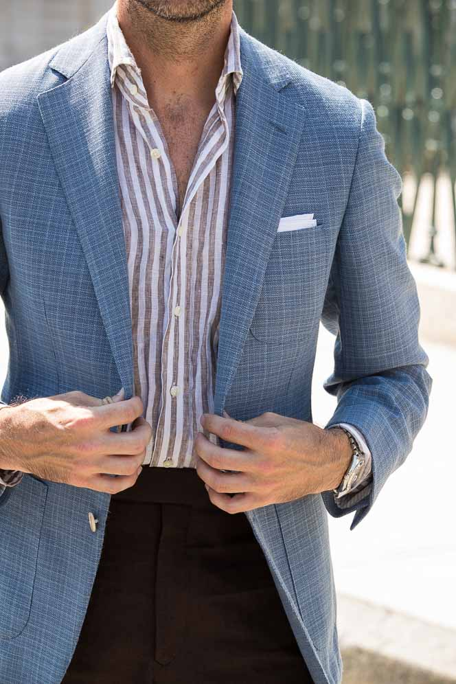keep linen from wrinkling