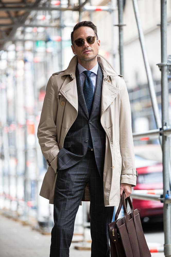 Transitional Outerwear The 34 Length Trench Coat He