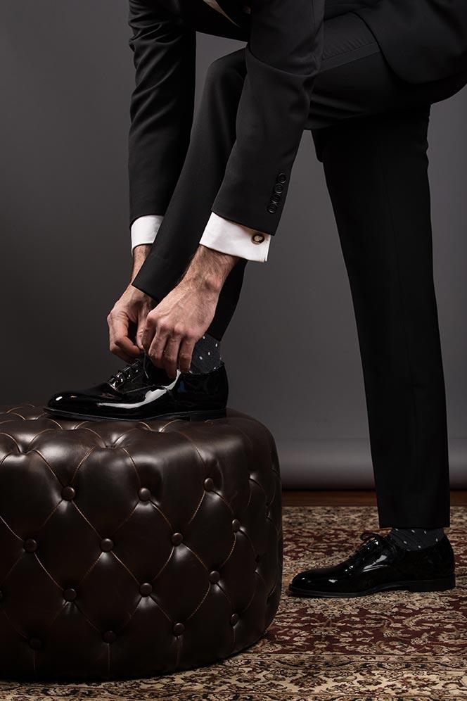 suit pants cuff no cuff