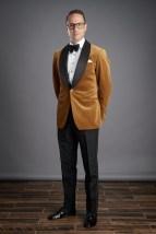 Gold Velvet Dinner Jacket