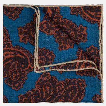 seaward stearn paisley pocket square