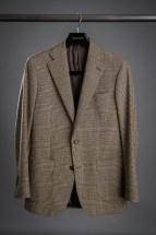Brown Glen Plaid Flannel Sport Coat