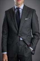 Charcoal Grey Flannel Suit
