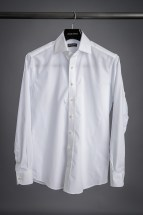 White Poplin Dress Shirt