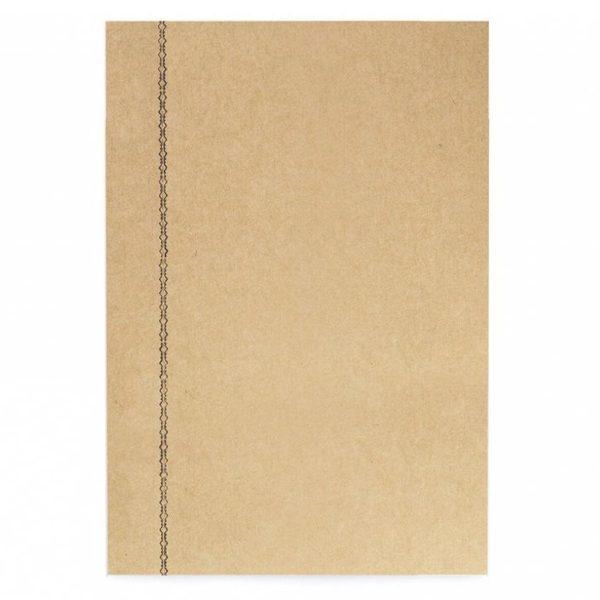 La Compagnie du Kraft Notebook Refill - Brown Unlined