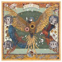The Princely Parrots Pistachio/Peridot