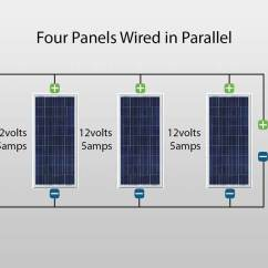 Wiring Diagram Solar Panel Installation 2 Gang Way Lighting How To Wire Panels In Parallel Or Series Hes Pv Blog Wired A Circuit